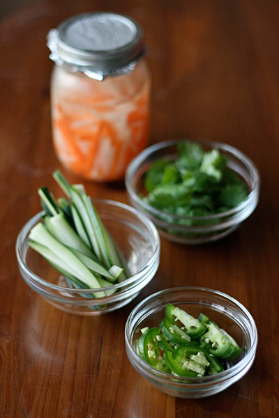 Banh Mi - Pickled vegetables