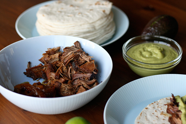 Beef Tacos - Ingredients