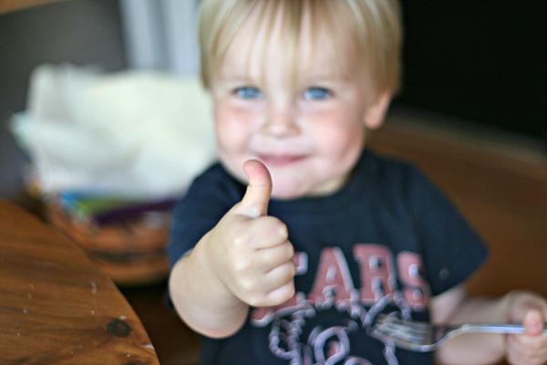 Chai Cheesecake - Thumbs Up