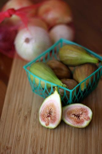 Fig Onion Tart - Fresh Figs