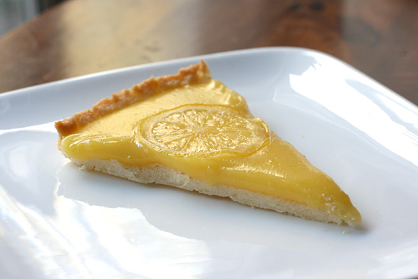 Tarte Au Citron - The unfussy flavor of this tarte au citron makes it a natural to serve at a brunch or tea. It's the perfect way to brighten up the long, chilly nights.