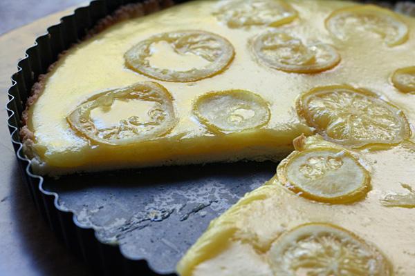 Tarte Au Citron is a sweet way to brighten up winter.