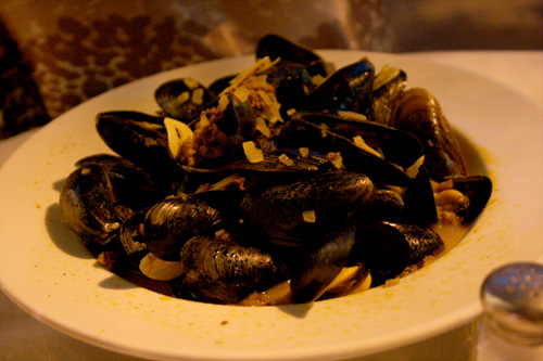 Mussels at Annie's