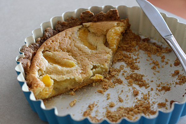 Almond Tart - Citrus and nuts contrast nicely in an almond tart from Dorie Greenspan's Around My French Table.