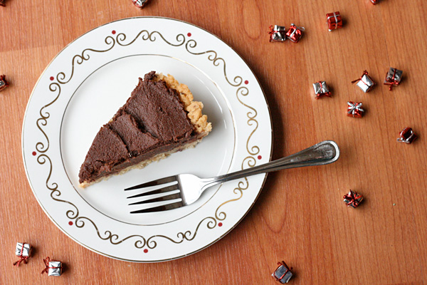 Chocolate Peanut Butter Pie - Chocolate Peanut Butter Pie is sweet, dense, and rich.