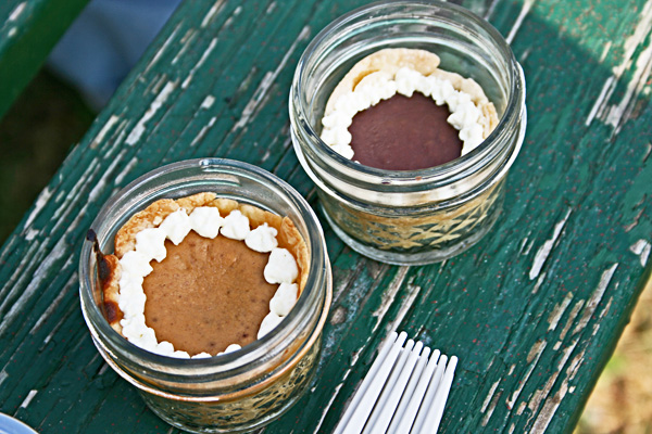 Pie in Jars