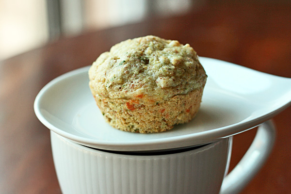 Savory Muffins - These savory muffins are great with eggs at breakfast, a salad at lunch, and a meaty bowl of chili at dinner.