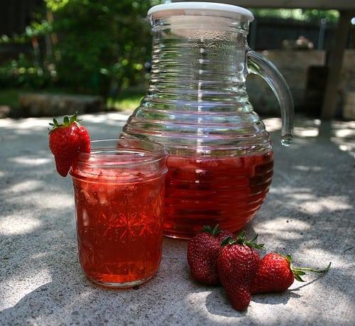 Strawberry Mint Sparkles