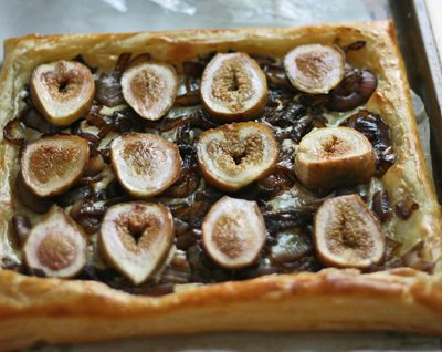 Fig Onion Tart