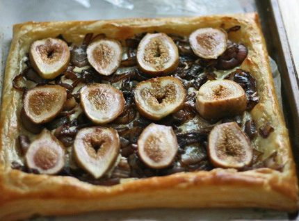 Fig Onion Tart