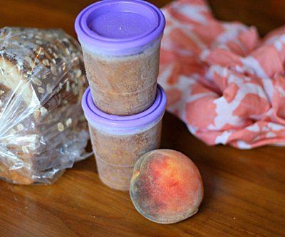 Easiest Peach Pie Freezer Jam