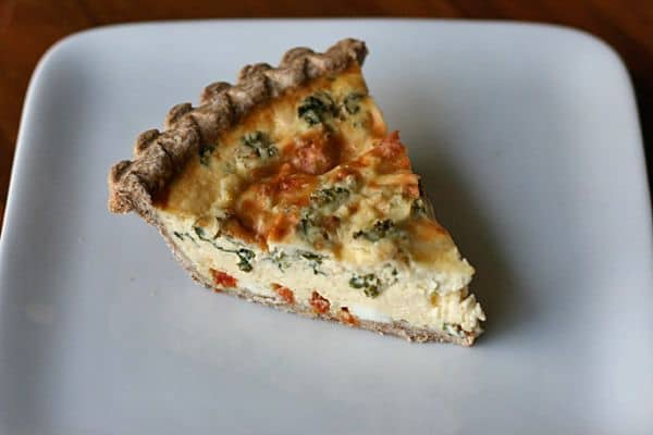 Pizza Quiche image on Stetted