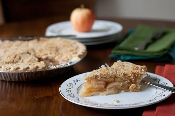 Apple Pie is topped with a cheddar-infused crust.