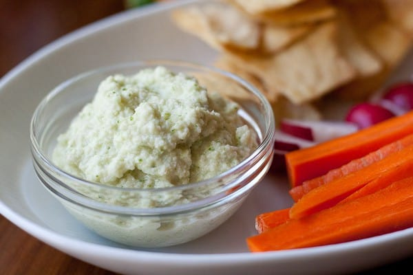 Zucchini Hummus - Still have zucchini to use? Try this simple zucchini hummus dip that makes a great stand-in for traditional hummus.