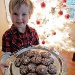 muddy snowdrop cookies