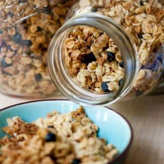 Lemon Blueberry Granola
