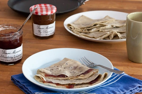 Gluten Free Crepes - Grab a recipe for Gluten Free Crepes and enter to win a Le Creuset crepe pan!