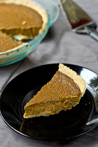 Butternut Squash Pie - No pumpkin? No problem! Butternut squash is the perfect pie stand-in.