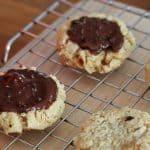 Chocolate Hazelnut Cookies with Espresso Salt