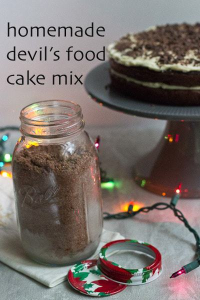Homemade Devil's Food Cake Mix