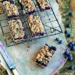 WGMN Blueberry Breakfast Bars image p 96
