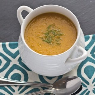 Roasted Carrot and Fennel Soup