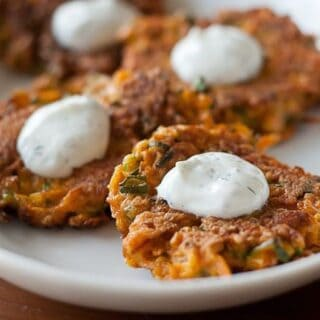 Carrot Fritters
