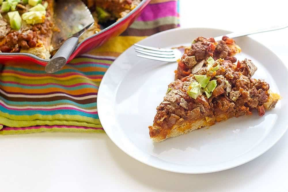 Comforting, hearty, and still simple to make, Chili Beef Pie tastes like home.