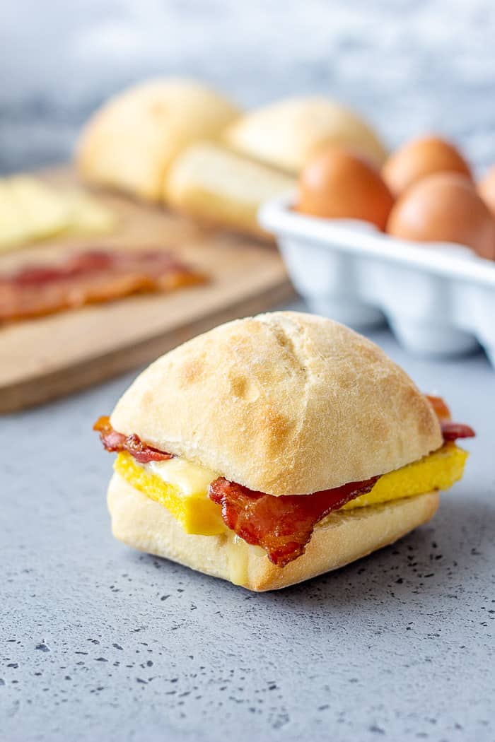 Who needs the coffee shop? Save time and money by making these copycat Starbucks Breakfast Sandwiches at home.