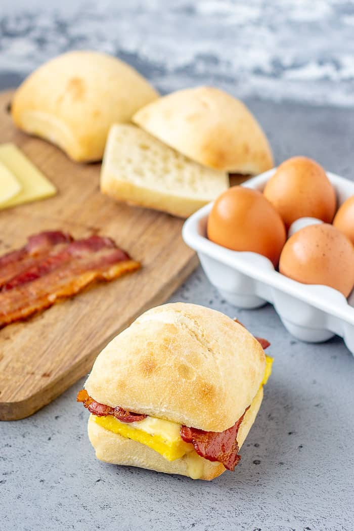 Starbucks breakfast sandwiches are so easy to make at home. Skip that long line!