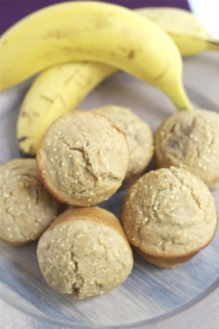 Banana Millet Muffins