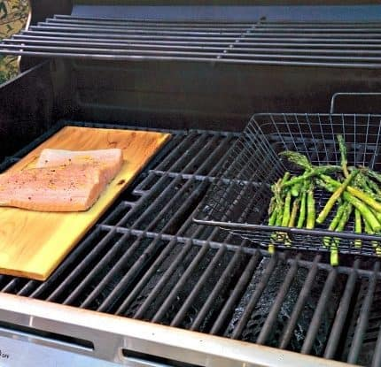 Grilling with Cedar Planks