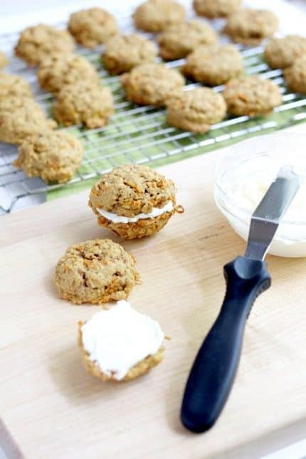 Double Stuffed Oatmeal Cookies
