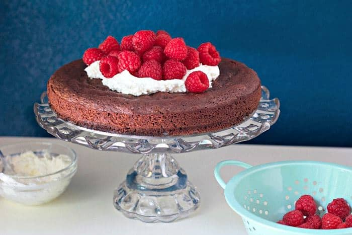 Kladdkaka, or gooey Swedish chocolate cake, is one of the easiest cakes you can make.