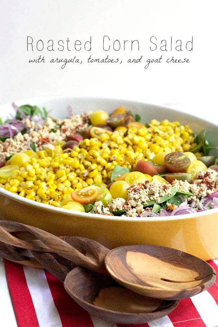 Roasted Corn Salad - Savor the fresh flavors of summer with this roasted corn salad.