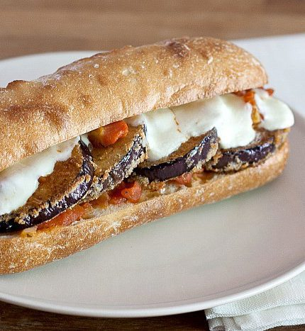 Eggplant Parmesan Sub photo on Stetted