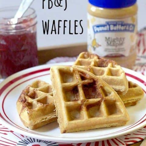 Peanut Butter and Jelly Waffle pic on Stetted