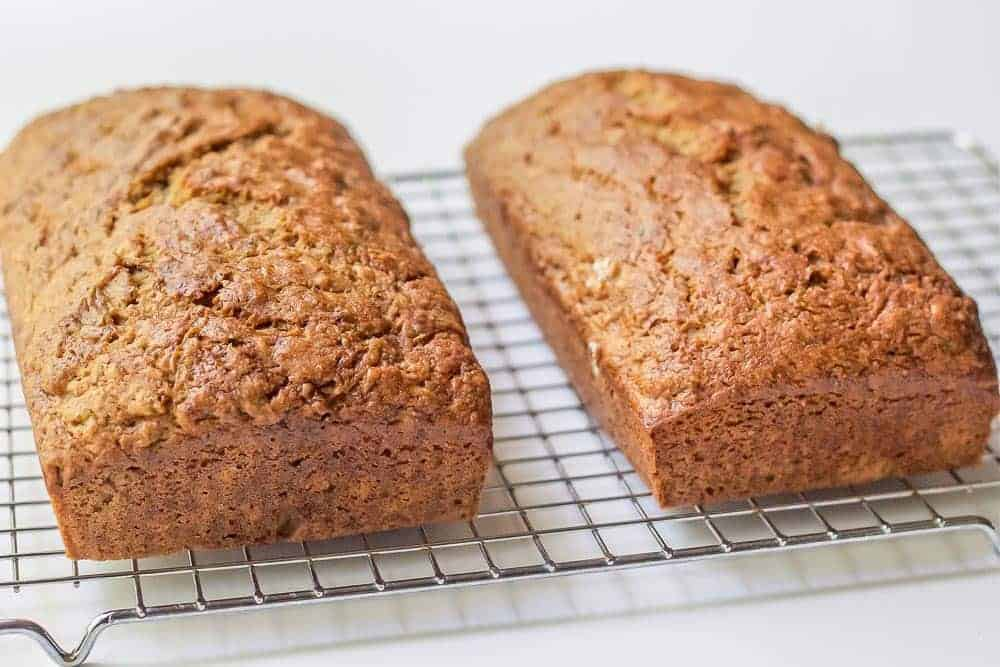 Classic zucchini bread is everyone's favorite summer snack.