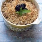 Blackberry Basil Crumble photo on Stetted