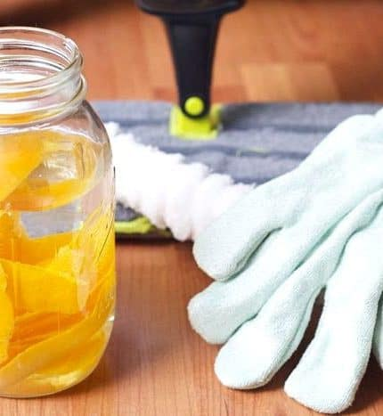 Declutter & Deep Clean for Fall (Recipe: All-Purpose Orange Cleaner)