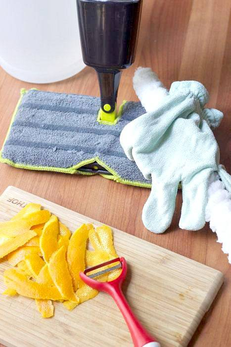 Homemade All-Purpose Cleaner - Use back-to-school time as an excuse to get the house in order, and try a recipe for homemade all-purpose cleaner.
