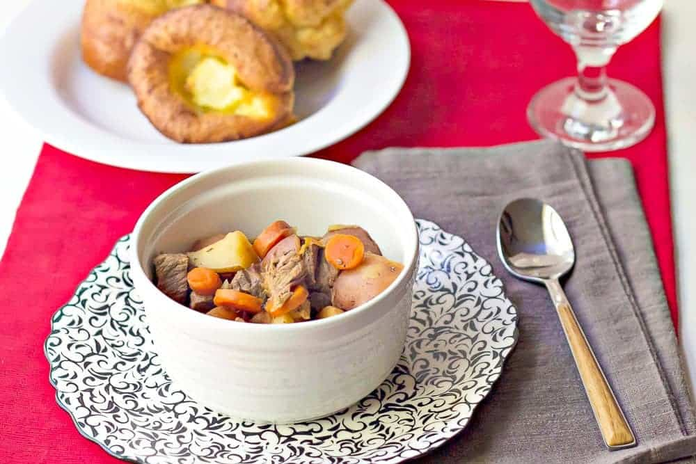 Classic beef stew is a family-friendly meal for when the weather gets colder.