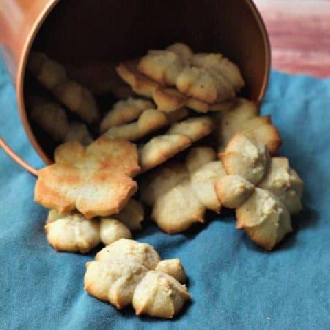 Chai Spritz Cookies