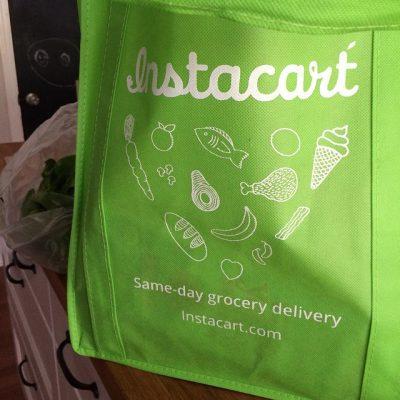 Saving Time with Instacart (Weekly Meal Plan, September 15)