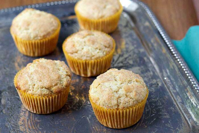 Snickerdoodle Muffins - the classic cookie in breakfast form!