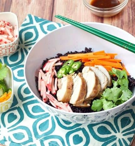 Banh Mi Bowls with Pickled Radishes