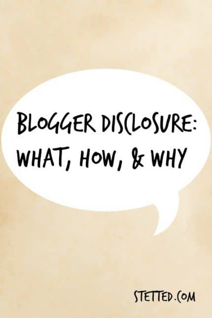 Disclosure: What, How, & Why