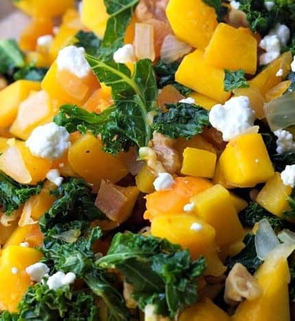 Kale & Butternut Squash Saute