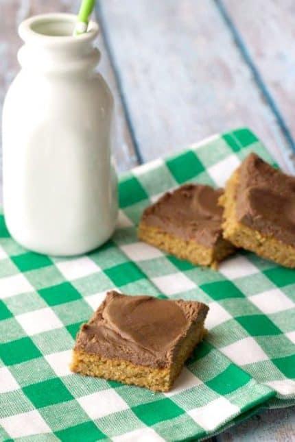 Peanut Butter Chocolate Blondies