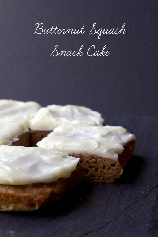 Butternut Squash Snack Cake is a tasty after school treat.
